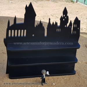 Diorama Estante castillo hogwarts Harry Potter