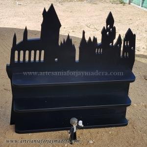 Diorama Estante castillo hogwarts Harry Potter