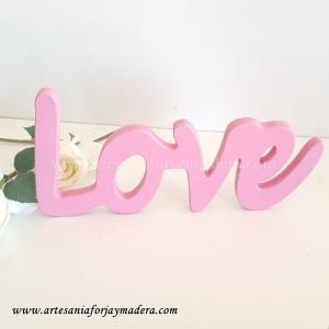 Letras Decorativas Love Cursiva