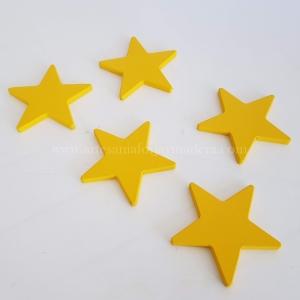 Estrellas de madera para pared