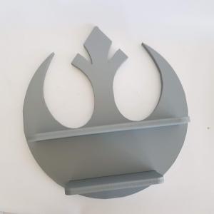 Diorama Estante Alianza Rebelde Star Wars