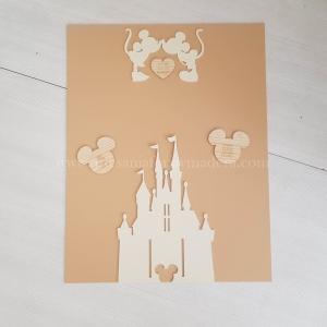 Seating plan castillo Disney