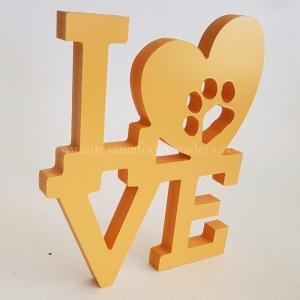 Letras Decorativas Love Mascota