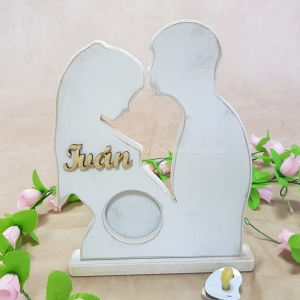 Portafotos pareja Ecografia Embarazo