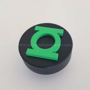 Tirador 3D Linterna Verde Superheroe