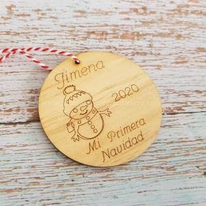Bola Navidad Muñeco de Nieve