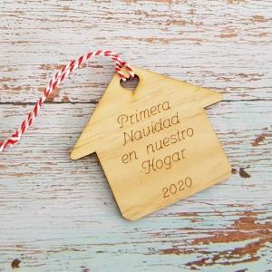 Adorno Navidad Casita