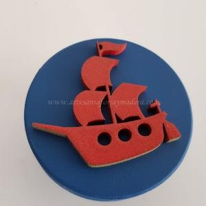 Tirador 3D Pirata Barco