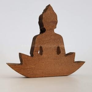 Silueta de Pie Buda