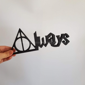 Letras Decorativas Always Harry Potter