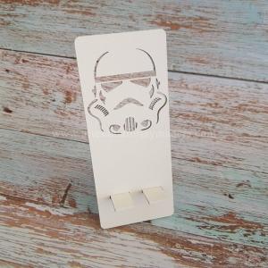 Apoya Movil Madera Star Wars Trooper