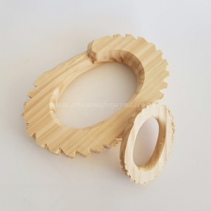Juego dos roscas madera Abad