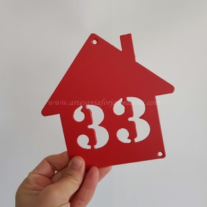 Casa Numero Puerta