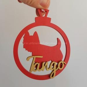 Bola Navidad 3d West Highland Terrier