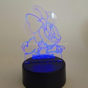 LAMPARA LED QUITAMIEDOS MINNIE