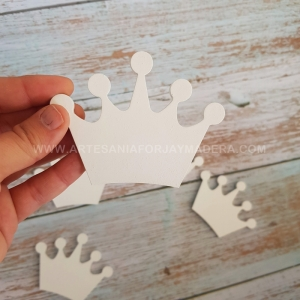 Siluetas Coronas de Pared (Pack de 5)