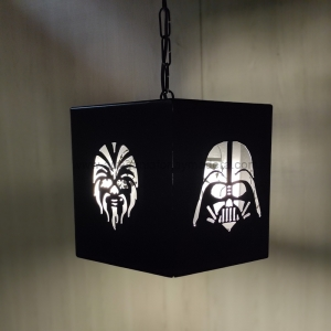 Lámpara Hexagonal Star Wars