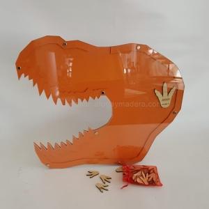 Hucha Dinosaurio para firmar tus invitados