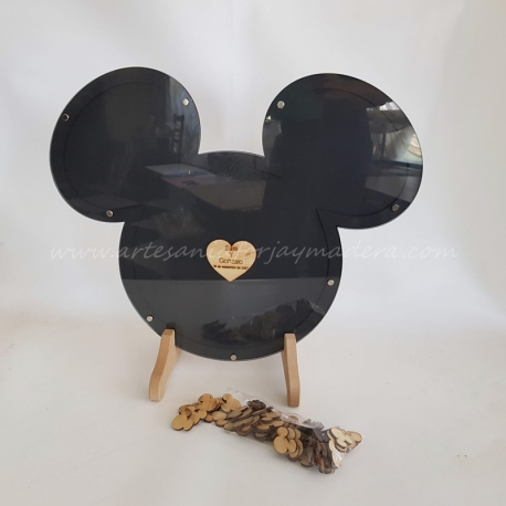 Mickey para firmar