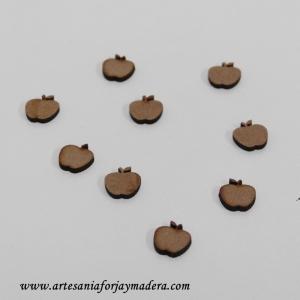 Mini Manzanas de madera