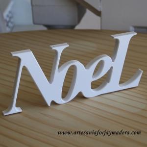 """Letras decorativas """"Noel"""""""