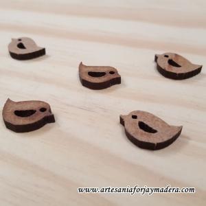 Mini Pajaro madera