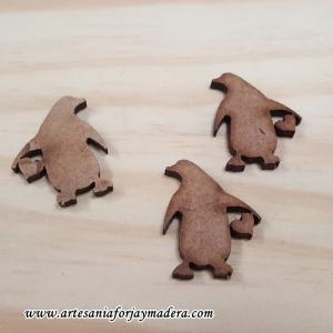 Mini Pinguino madera