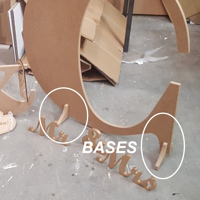 Muebles artesanos y decoraci n en hierro y madera - Letras de madera para decorar ...