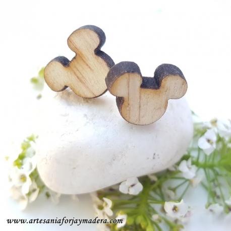 Pendientes de madera - Colgadores de pendientes ...