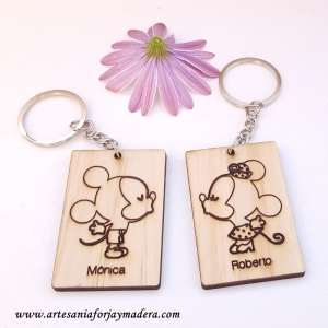 LLavero Mickey & Minnie Love