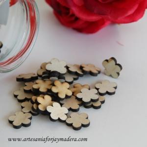 Mini silueta Flores