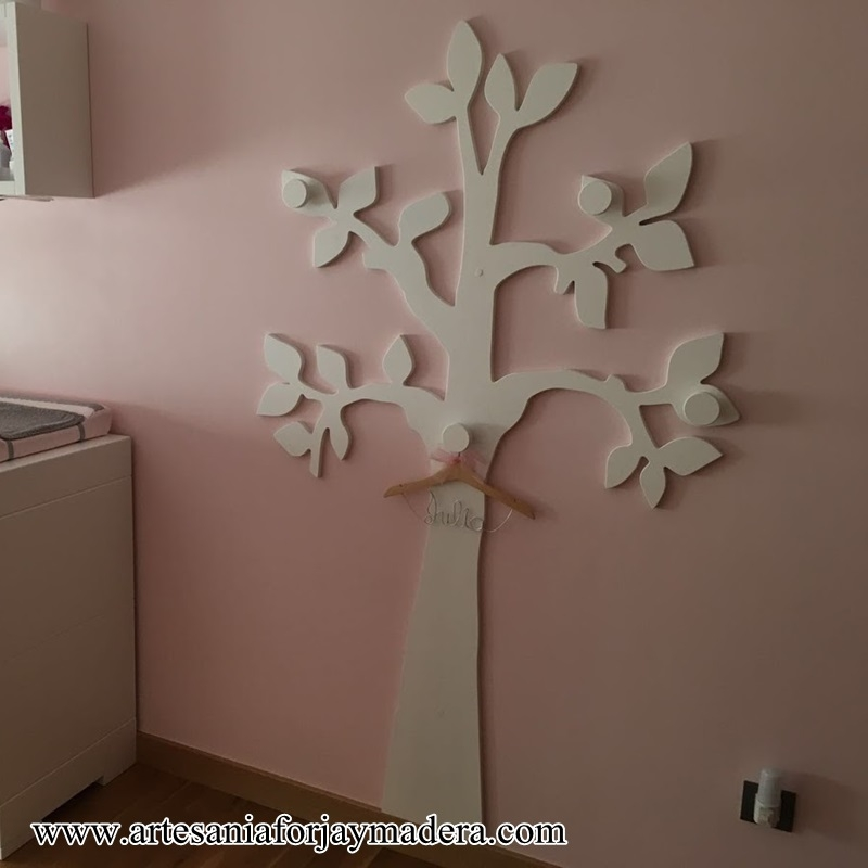 Perchero infantil de pared for Perchero pared infantil