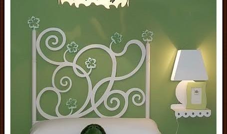 Dormitorio infantil mariposas