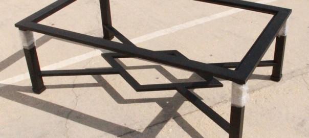 mesa elevable hierro camilla