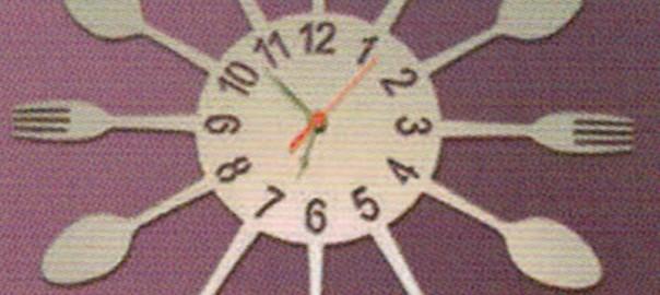 reloj hierro personalizado