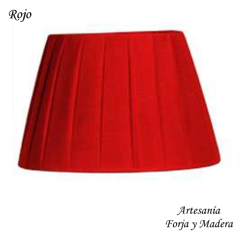 Pantalla Plisada Rojo