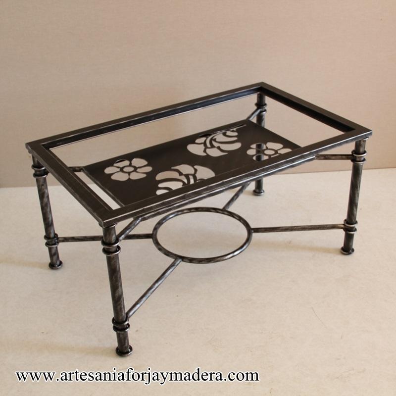 Muebles artesanos y decoraci n en hierro y madera for Muebles industriales madera y hierro